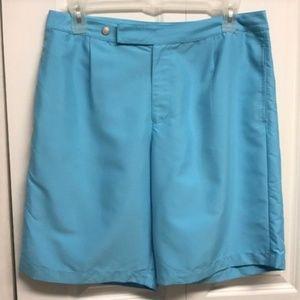 Caribbean Joe Shorts Size 16 Light Blue